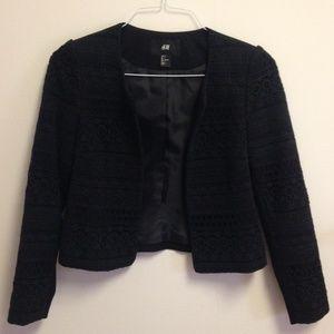 versatile H&M black blazer